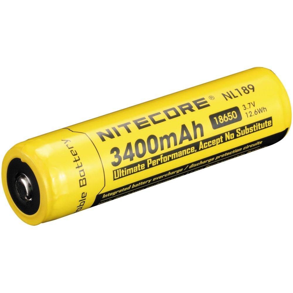 Аккумулятор Nitecore 18650 3400mAh