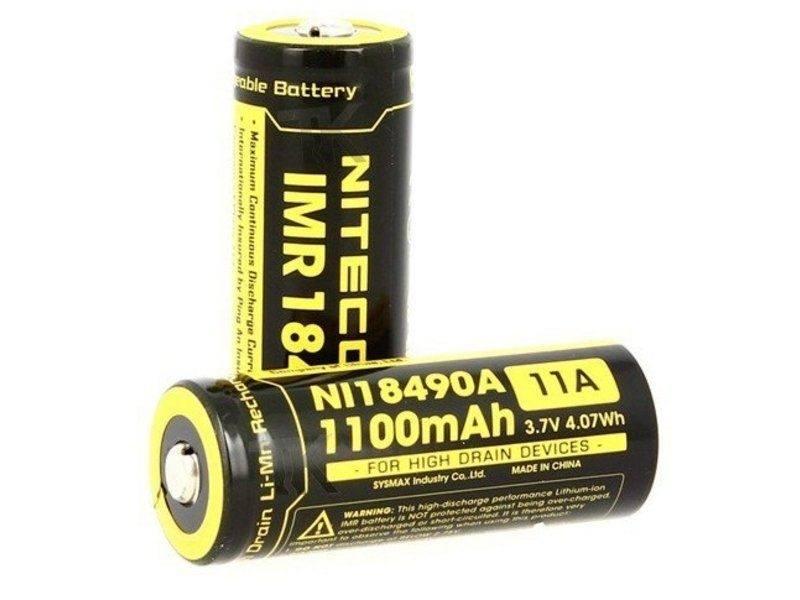 Nitecore IMR NL18490A 3.7v 1100mA 11A
