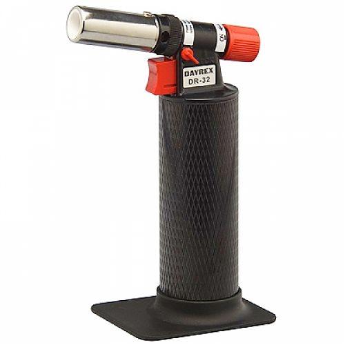 пьезоподжиг, регулировка длинны пламени и температуры, защита от случайного поджига.