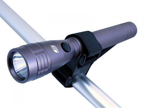 SOLARIS F-10M Многофункциональный светодиодный фонарь с комплектацией  Дальнобойный светодиодный фонарь с вело креплением