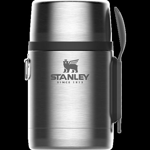 Американский термос для еды STANLEY Adventure 0,53L   Удержание тепла и холода 12 ч. В комплекте ложка/вилка