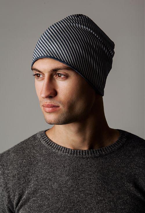шапка с светоотражающими нитями
