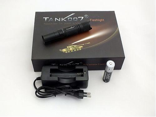 Мощный карманный водонепроницаемый светодиодный фонарь, CREE XP-G R5, 260 Lumens
