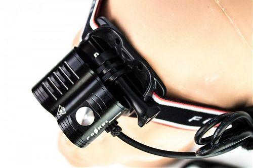Налобный фонарь Ferei HL51 Discoverer XHP35   налобный фонарь для спелеологии и дайвинга.2800 лм. Ближний и дальний свет.