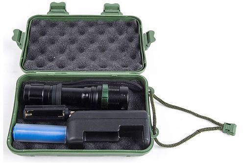 Светодиодный ручной аккумуляторный фонарь Ultraflash E142