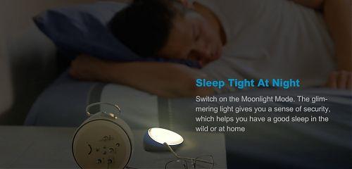 Универсальный кемпинговый фонарь со встроенным аккумулятором