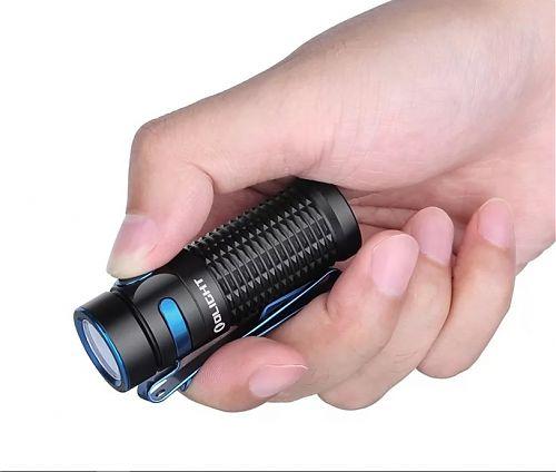 Перезаряжаемый светодиодный фонарь Olight Baton 3 Black купить с доставкой по России в магазине Fonariki.ru  Переносной магнитный USB кабель Olight MMC3