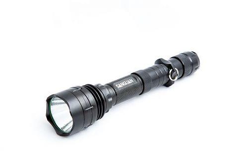 Светодиодный фонарь с возможностью использования 2 аккумуляторов