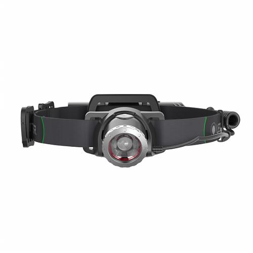 Налобный фонарь Led Lenser MH10  600 лм, фокусировка, зарядка USB.Фильтры и чехол в комплекте