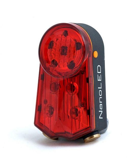 Габарит велосипеда NanoLed PRO-L10  7 режимов мигания/переливания и 2 режима лазерных линий