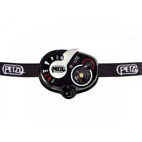 Фонарь светодиодный налобный Petzl e+LITE (E02 P4)  компактный, аварийный налобный фонарь