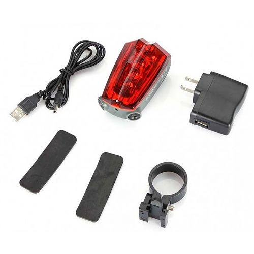 Габаритный фонарь PRO-L05M  с USB зарядкой  Встроенный аккумулятор. USB зарядка. Светодиоды и лазер