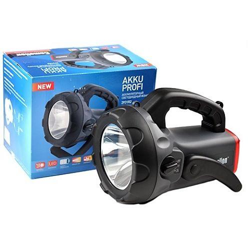 Аккумуляторный фонарь прожектор Camelion 2931 (led2931r2)  комплект: адаптер 220 вольт + автомобильный 12 вольт, ремешок для переноски