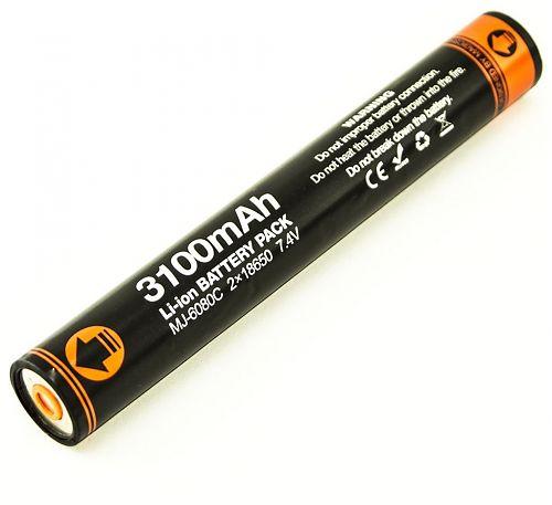 Аккумулятор MJ-6080 C для MagicShine MJ-810E / MJ-810ES  сборка на основе 2шт 18650 Panasonic