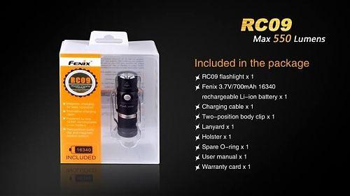 Fenix RC09  Лимитированная серия.Перезаряжаемый. Подарочная упаковка