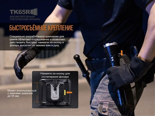 Fenix TK65R Cree XHP70  3200 лм. Аккумулятор на 5000 mAh. micro-USB