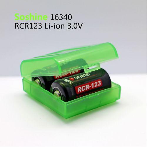 Литий-ионная RCR123 / ICR16340 с емкостью:650mA 3,0 в