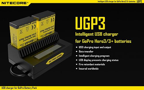 Зарядное устройство UPG3 для GoPro3  Зарядное устройство UPG3 для GoPro3