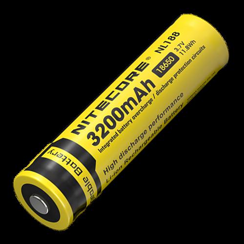 аккумулятор формата 18650, 3.7V, 11.5Wh. Ёмкостью 3200 mAh