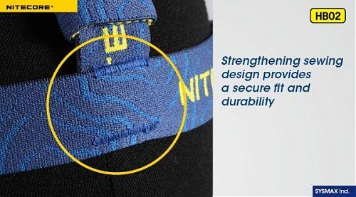 Налобное крепление Nitecore Headband HB02  Налобное крепление универсальное.