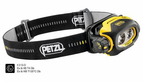 Взрывозащищенный налобный фонарь PETZL PIXA Z1  ATEX зона 1/21 (II 2 GD Ex ib IIB T4 Gb IIIB T135° C Db)