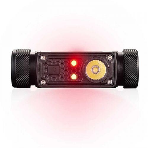 Налобный фонарь JETBeam HR30 с USB зарядкой и красным светом  Встроенная зарядка, доп. красный свет может работать от аккум 20700