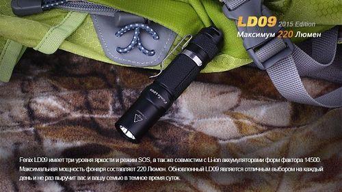 Компактный ручной фонарь для туризма