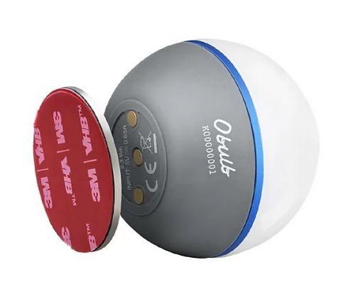 Кемпинговый светодиодный фонарь Olight Obulb Basalt Grey купить с доставкой по России в магазине Fonariki.ru  Встроенный в корпус фонаря магнитный разъем для зарядки