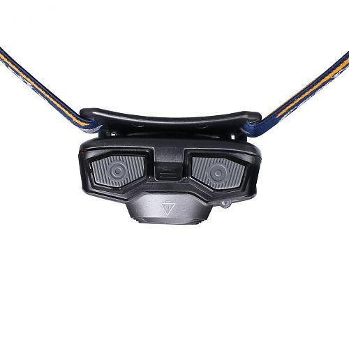 Налобный фонарь на батарейках Fenix HL30 2018  Легкий. Управление двумя кнопками. Батарейки АА