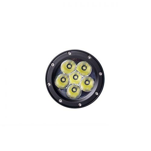 Подводный фонарь Ferei W172B  Сверхмощный подводный фонарь, 5200 лм Теплый свет диода