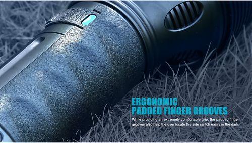 Olight X9 Marauder мощный ручной фонарь 25000лм  25 000 люмен! встроенное зарядное устройство,противоударный кейс.