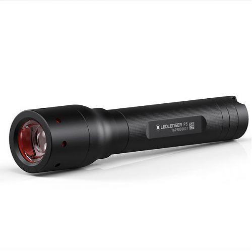 Led Lenser P5  140 лм, система фокусировки одной рукой.
