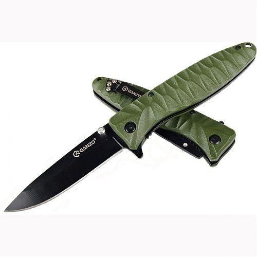 Складной нож. Тип замка Liner Lock