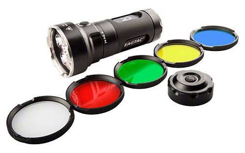 Набор с поисковым фонарем на светодиоде Nichia