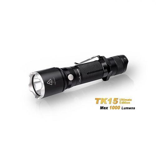 Фонарь Fenix TK15UE CREE XP-L HI V3 LED Ultimate Edition  Управления двумя кнопками.4 режима яркости
