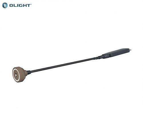 Выносная магнитная тактическая кнопка Olight RWX07  Магнитная. Прямой  шнур