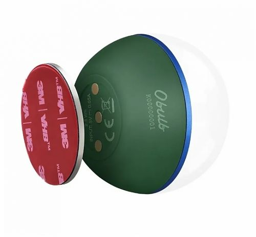 Кемпинговый светодиодный фонарь Olight Obulb Moss Green купить с доставкой по России в магазине Fonariki.ru  Встроенный в корпус фонаря магнитный разъем для зарядки