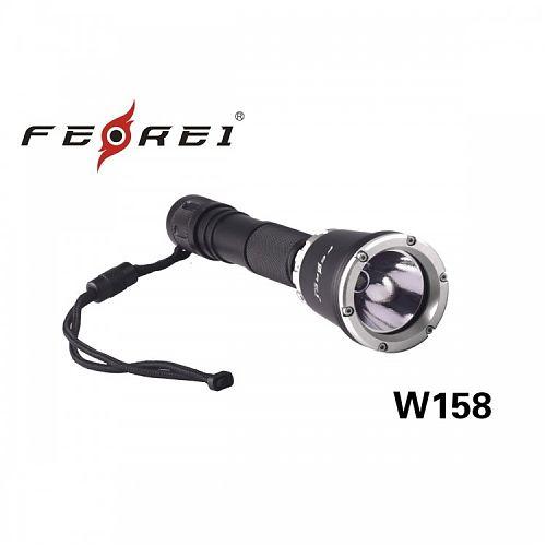 Фонарь дайвинговый Ferei W158  Аккумуляторный фонарь для дайвинга и подводной охоты