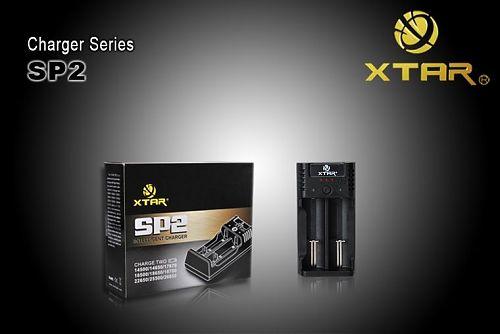 Зарядное устройство XTAR SP2 для Li-ion аккумуляторов  Зарядное устройство с микропроцессорным управлением процесса заряда