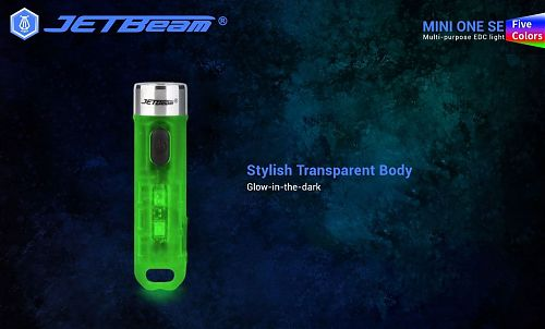 Мини наключный фонарик в usb зарядкой JETBeam MINI ONE SE RGB CREE XP-G3