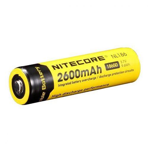 аккумулятор формата 18650, Li-ion. 3.7V, 9.6Wh. Ёмкостью 2600 mAh