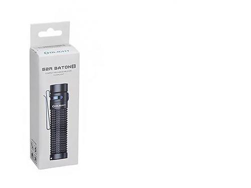 Перезаряжаемый светодиодный фонарь Olight S2R II Baton купить на ФОНАРИКИ.РУ с гарантией от производителя  Li-ion аккумулятор 18650. Переносной магнитный USB кабель Olight MMC II