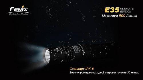 Компактный яркий фонарь. Режим BURST 900 люмен