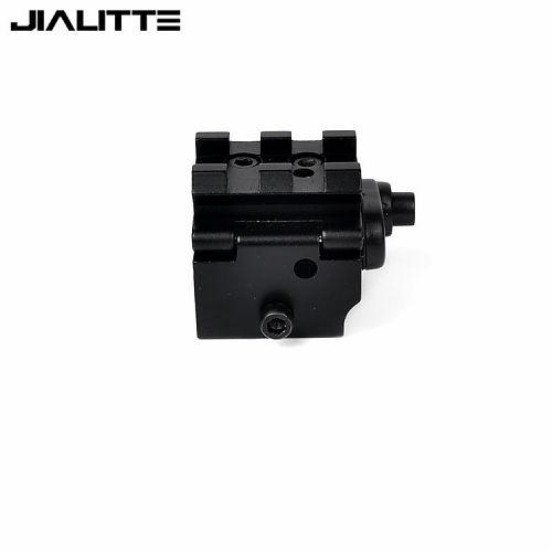 Лазерный целеуказатель для оружия Jialitte J260 532nm красный с креплением.  Красный 532 нм с креплением