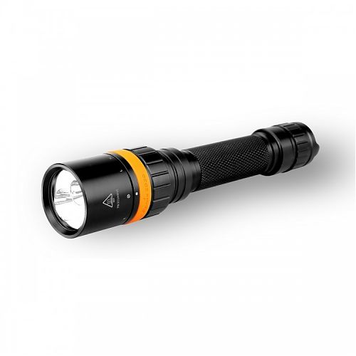 Подводный фонарь Fenix SD20 Cree XM-L2 U2  1000 лм.- белый свет. 105 лм -красный свет. Индикатор заряда