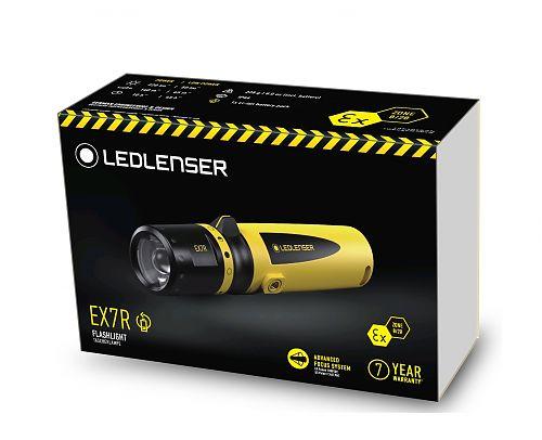 Led Lenser EX7R  Сертификат ATEX для зоны 0/20. Фокусировка. Магнитная зарядка