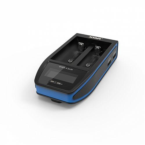 Самое быстрое зарядное устройство XTAR Over 4 Slim  - ток 4.1 А