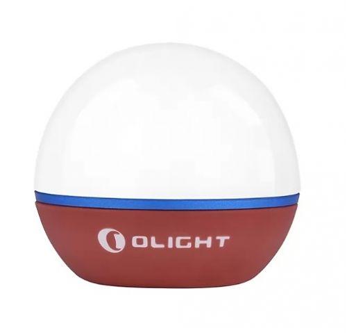 Кемпинговый светодиодный фонарь Olight ObulbWine Red купить с доставкой по России в магазине Fonariki.ru  Встроенный в корпус фонаря магнитный разъем для зарядки