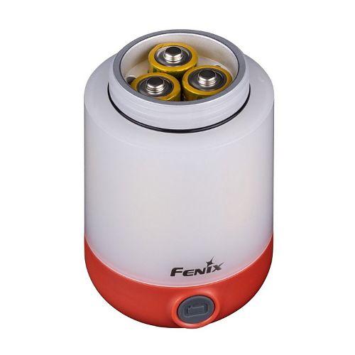 Fenix FD20  светит как в стороны, так и вниз. дополнительный красный свет