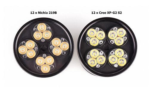 Сверхъяркий компактный фонарь с очень широким светом. Управление двумя кнопками